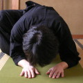 yin dragon pose