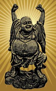 vector sample buddha