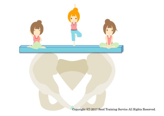 Seed Training,ヨガ,陰ヨガ,ピラティス,インナーマッスル,体幹,腰痛,骨盤,背中,姿勢,ニュートラル